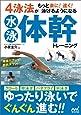 4泳法がもっと楽に!  速く!  泳げるようになる水泳体幹トレーニング