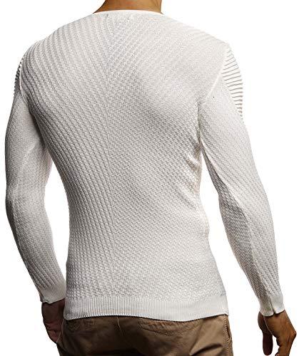 Uomo Unita Natur Tinta T Lunga Manica shirt Leif Nelson x06qI7