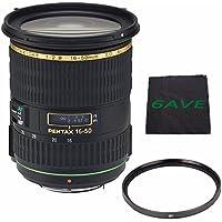 Pentax Zoom Super Wide-Telephoto SMCP-DA 16-50mm f/2.8 ED AL (IF) SDM Autofocus Lens + UV Filter + MicroFiber Cloth 6AVE Bundle