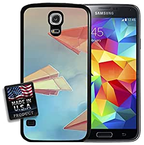 Paper Planes Blue Skies Pastel Painting Galaxy S5 Hard Case