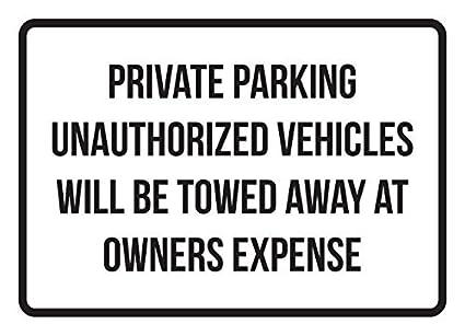 Carteles de metal de aluminio para vehículos de aparcamiento ...