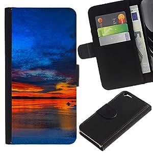 All Phone Most Case / Oferta Especial Cáscara Funda de cuero Monedero Cubierta de proteccion Caso / Wallet Case for Apple Iphone 6 // Sunset Beautiful Nature 37