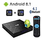 Newest 2019 Android TV Box,T9 Android 8.1 Boxes with 4GB RAM 32GB ROM