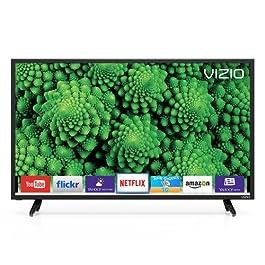 VIZIO D32-D1 D-Series 32″ Class Full Array LED Smart TV (Black)