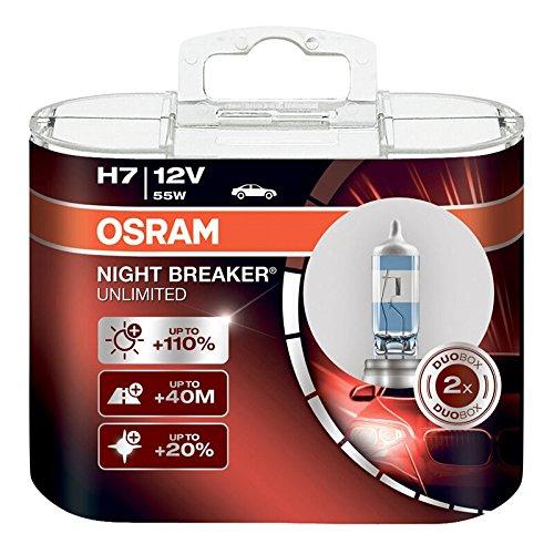 OSRAM - Night Breaker Unlimited H7 (Pair)