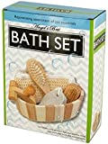 5-Piece-Bath-Body-Gift-Set-with-Relaxing-Spa-Tools-in-Wooden-Basket-Rejuvenate-Yourself-with-Useful-Gadgets-for-Health-Beauty