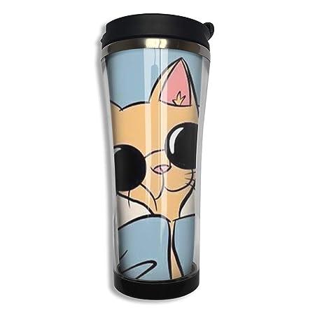 Tazas de café de acero inoxidable Taza térmica de café de ...