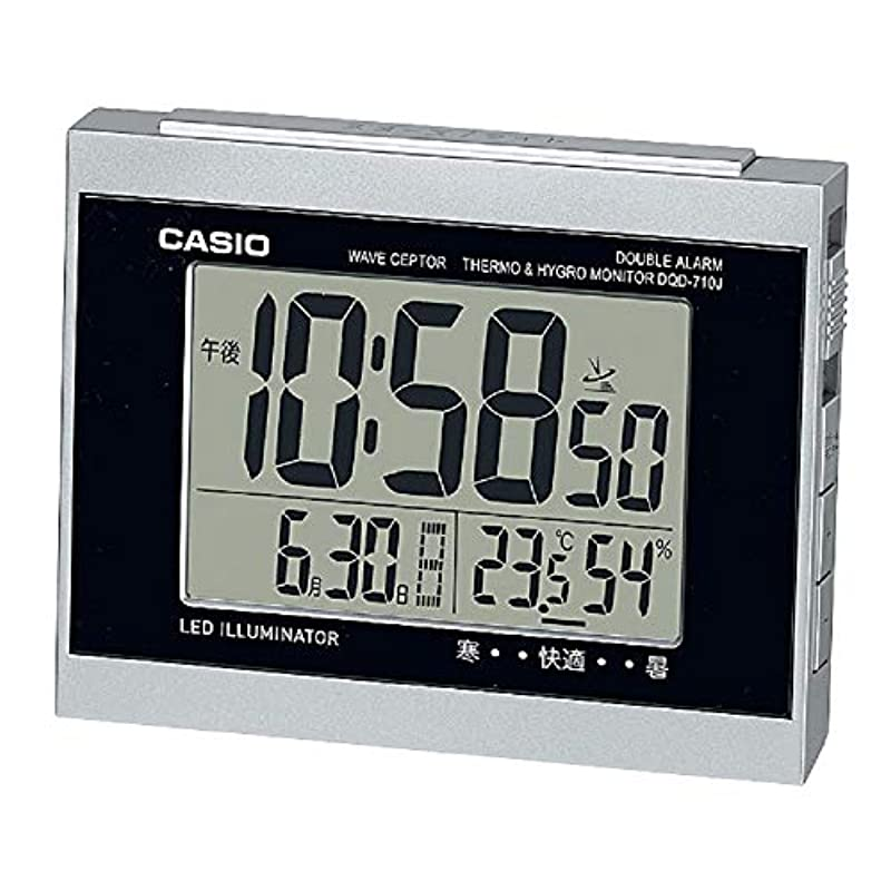 CASIO household goods table clock DQD-710J-1JF