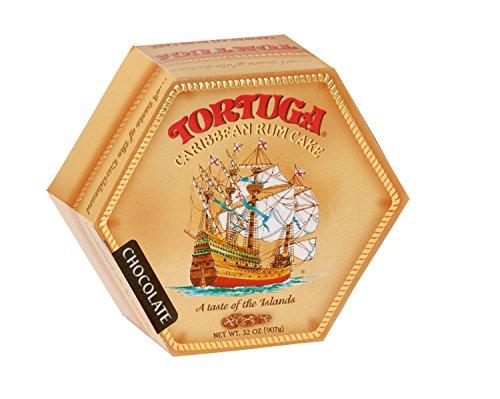 TORTUGA Caribbean Chocolate Rum Cake - 32 oz. - The Perfect Premium Gourmet Gift