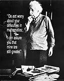 Einstein: Do Not Worry Poster 16 x 20in