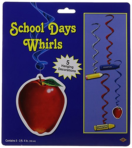 School Days Whirls (5/Pkg)