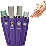 4 IN 1 Electric Machine Kit Automatic Manicure Sets Polish Nail Art Tools Kits ,Art Salon Manicure Pen Tool Nail Art File Drill,Nail Clipper Safety Scissors Nail Care Suit Products(Purple) Reviews