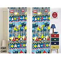 Kids Boys Window Curtain Panels with tiebacks (4 Piece...