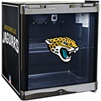 Glaros Officially Licensed NFL Beverage Center / Refrigerator - Jacksonville Jaguars