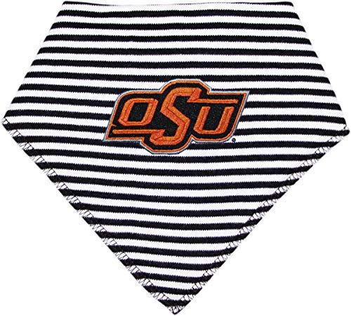 Oklahoma State University Cowboys Striped Baby Bandana Bib