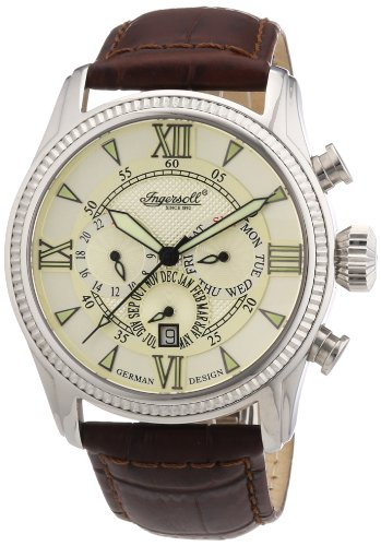 Ingersoll Men Watch Bel Air Limited Edition brown IN3213CR