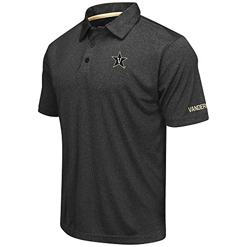Mens Vanderbilt Commodores Short Sleeve Polo Shirt - M by Colosseum