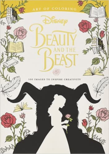 Amazon Art Of Coloring Beauty And The Beast 100 Images To Inspire Creativity 9781484789728 Disney Book Group Books