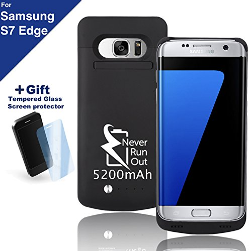 Samsung Galaxy S7 Edge Backup Battery Charger Protective Case, Fast-charging...