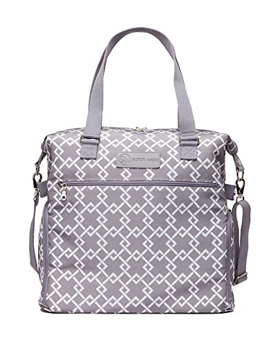 Sarah Wells Lizzy Breast Pump Bag (Gray)