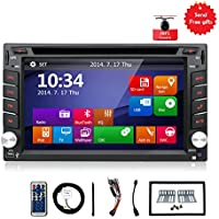 Navigation Seller - 2din New universal Car Radio Double 2 din Car DVD Player in dash gps navigation car stereo touch screen video Car Electronics with ipod