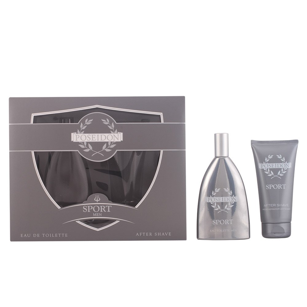 Poseidon Hombre Set de Belleza Edición Sport - Eau de Toilette, After Shave AIRE SEVILLA 8411047151235