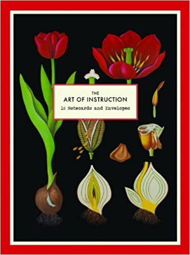 The Art Of Instruction Notecard Set 16 Notecards And Envelopes