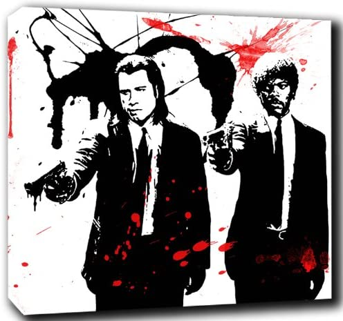 Lienzo-imagen del arte, diseño de Pulp Fiction/Abstract Pop Art ...
