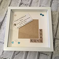 Sisters Scrabble Tile Gift 7x5/'/'! Personalised Photo Frame