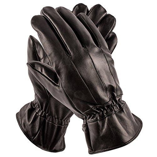Pierre+Cardin+Leather+Glove+%28Black%2C+Large%29