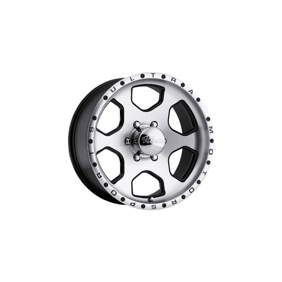 Ultra Wheel 175U Rogue Diamond Cut Face with Gloss Black Accents Wheel (17x8/6x5.50, +10mm offset)