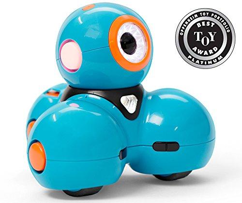Wonder Workshop Dash – Coding Robot for Kids 6+ – Voice Activated – Navigates Objects – 5 Free Programming STEM Apps…