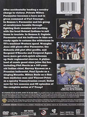 F Troop: The Complete Series (Seasons 1&2) (DVD)