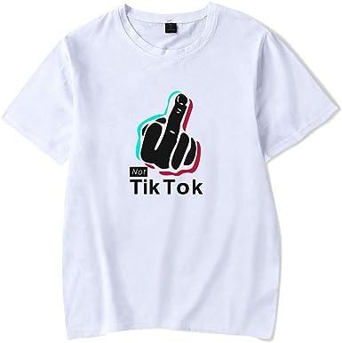 Muchacha de los Deportes TIK Tok Camiseta, Verano de la Muchacha, Camisetas de Deporte recreativo neutros, Camisetas de Aficionados a la música Camisetas (Color : #37, Size : XS): Amazon.es: Ropa y accesorios