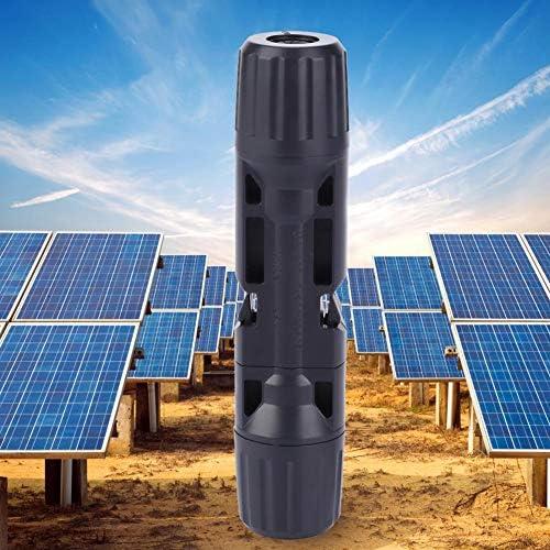 Garosa Steckverbinder, Solarpanel-Kabelsteckverbinder Adapter-Kit Solarzubehör Solar-Photovoltaik-Sicherungssteckverbinder Klemme 15A 20A 30A(10PCS)