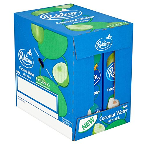 Rubicon Coconut Water Juice Drink 1L (Pack of 6)
