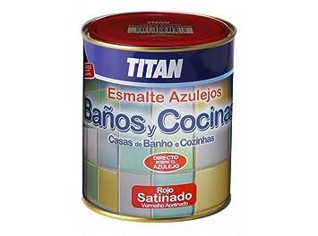 Pittura Lavabile Su Piastrelle : Titan m smalto per piastrelle da bagno cucina da ml
