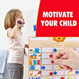 Magicfly Behavior Reward Chart for Kids, 17 x 12