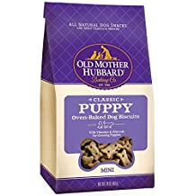 Old Mother Hubbard Classic Crunchy Natural Puppy Treats, Mini Dog Biscuits, 20-Ounce Bag