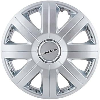 Amazon.com: Good Year GOD9033 - Set of 4 Universal Hubcap-Car Wheel ...
