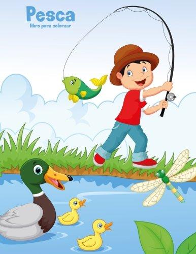 Pesca libro para colorear 1 (Volume 1)  [Snels, Nick] (Tapa Blanda)