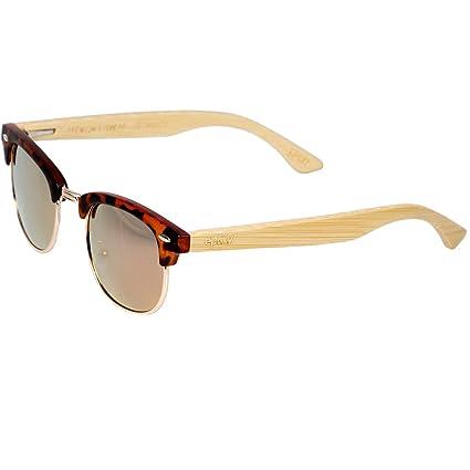 Epoxy Gafas de Sol Logo Bamboo, Hombre, Brown/bomboo, Talla ...
