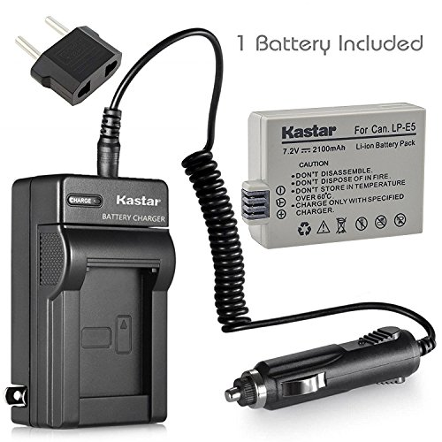 Power Charger Adapter For Canon Eos 450d 500d 1000d Rebel Xsi T1i Xs Chargers Accessories & Parts