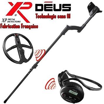 Metal Detectors Xp-Detector De metales Deus Light3 Tecnología inalámbrica-Auriculares De diadema inalámbricos