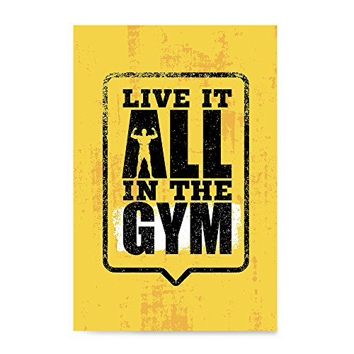 EzPosterPrints - Gym Inspiration Motivation Quotes - Poster
