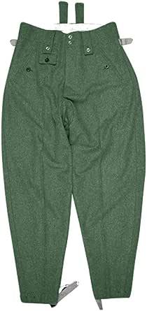 WW2 German Elite M43 Italian Field Wool trousers keilhosen blue green grey M