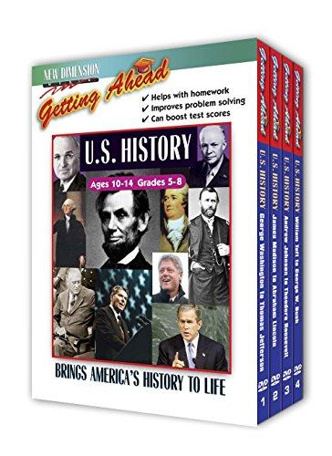 Getting Ahead: U.S. History 4 pk. (Dvd Educational)