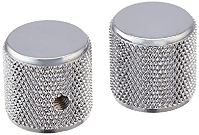 Fender Telecaster/Precision Bass Knobs - Knurled Chrome from Fender Musical Instruments Corp.