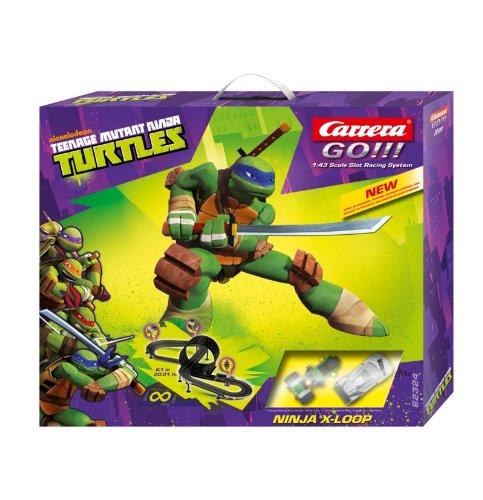 Amazon.com: Carrera Go Teenage Mutant Ninja Turtles X-Loop ...