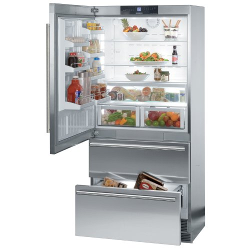 - Liebherr CS2061 36 Inch Counter Depth Bottom Freezer Refrigerator with 19.4 cu. ft. Total Capacity